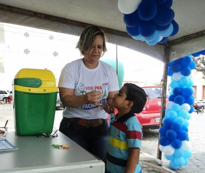 Monteiro inicia Campanha contra Influenza, confira os pontos de Vacinação