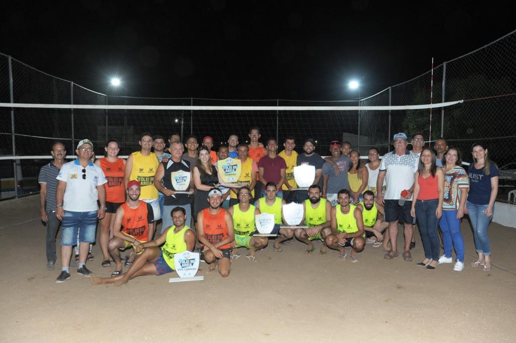 Competições acirradas marcam final do Torneio de Vôlei de Areia de Monteiro
