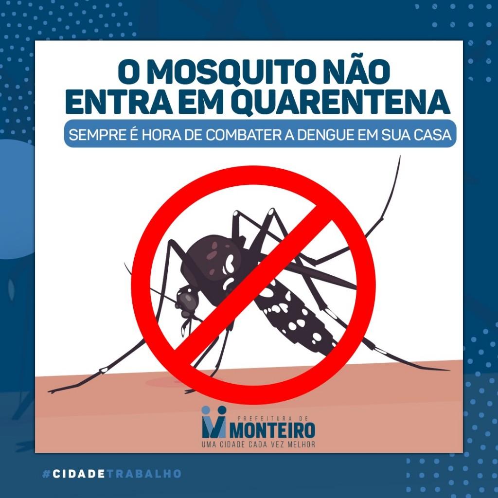 Secretaria de Saúde de Monteiro reforça orientações de prevenção sobre a Dengue, Zika e Chikungunya